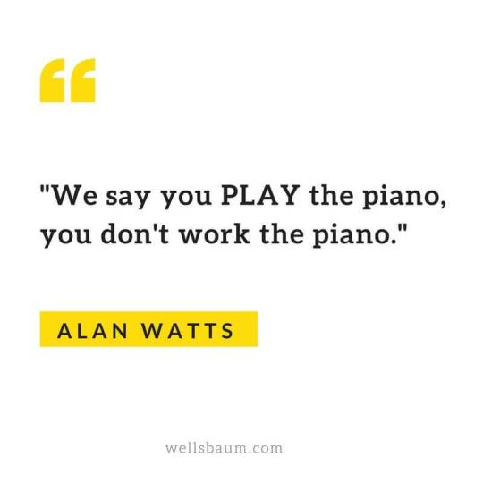 Alan Watts: Your Life is Not a Journey With a Destination #quotes